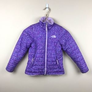 The North Face Puffer Reversible Furry Fleece Coat
